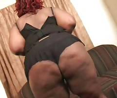 Big Black Chick Is Very Cock Hungry 1