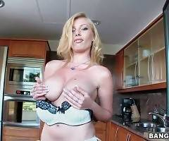 Stacked Blonde Donna Bell Is In Mood For Some Fun 2