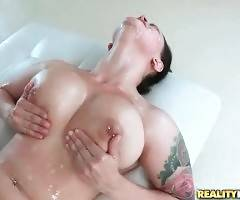 Breasted Cutie And Toned Stud Enjoy Hard Fucking 3